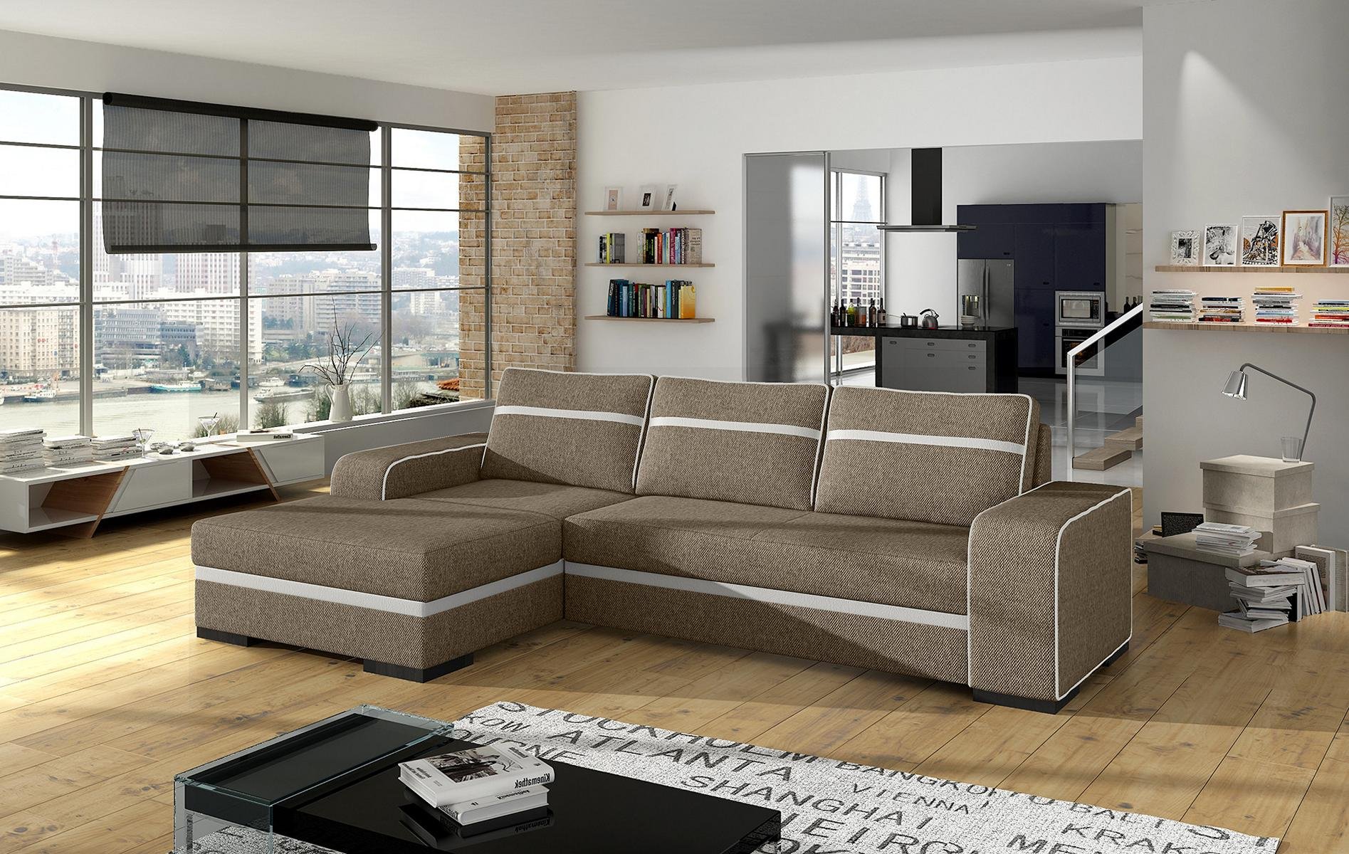 sofas ledersofa finn mit bettfunktion bettkasten ecksofa schlaffunktion. Black Bedroom Furniture Sets. Home Design Ideas