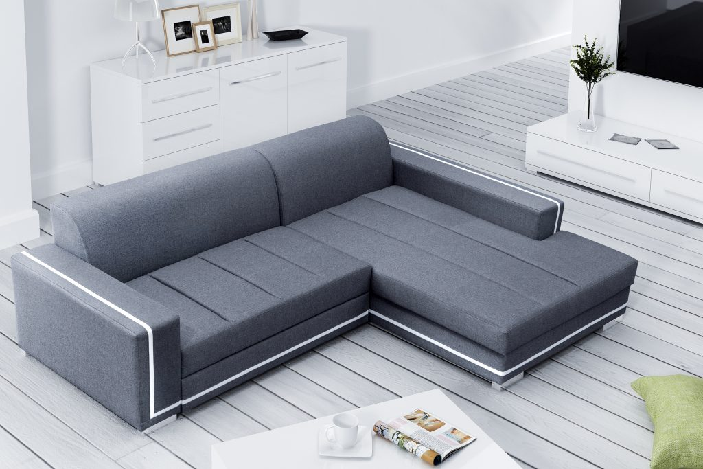 Sofas ledersofa martin mit bettfunktion bettkasten ecksofa for Couch mit bettfunktion und bettkasten