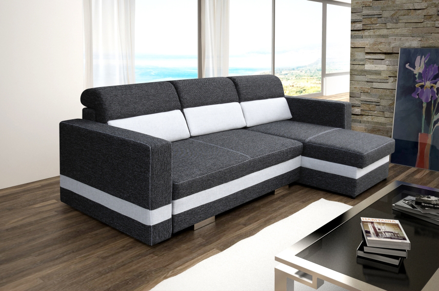 Sofas ledersofa r mini mit bettfunktion bettkasten ecksofa for Mini schlafsofa