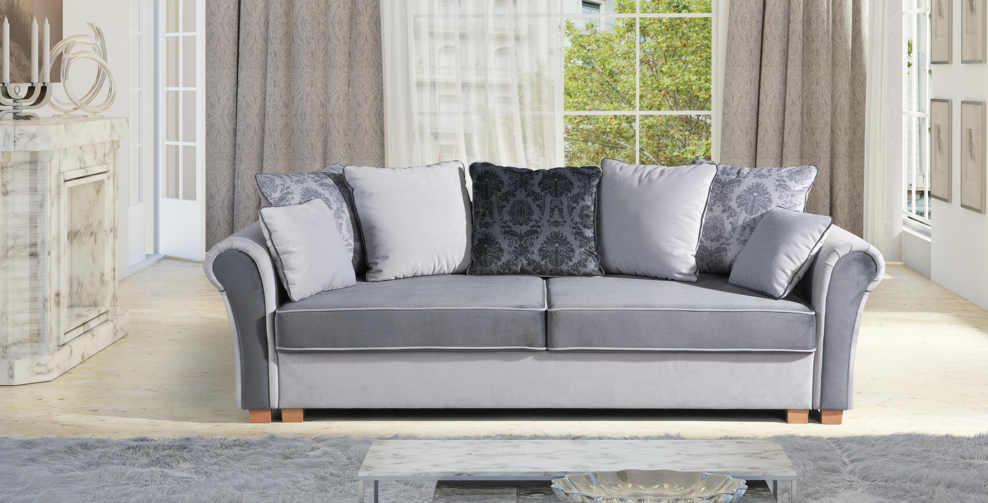 sofa schlafsofa designer 3 sitzer sofa mit bettfunktion bettkasten couch neu gusto www. Black Bedroom Furniture Sets. Home Design Ideas
