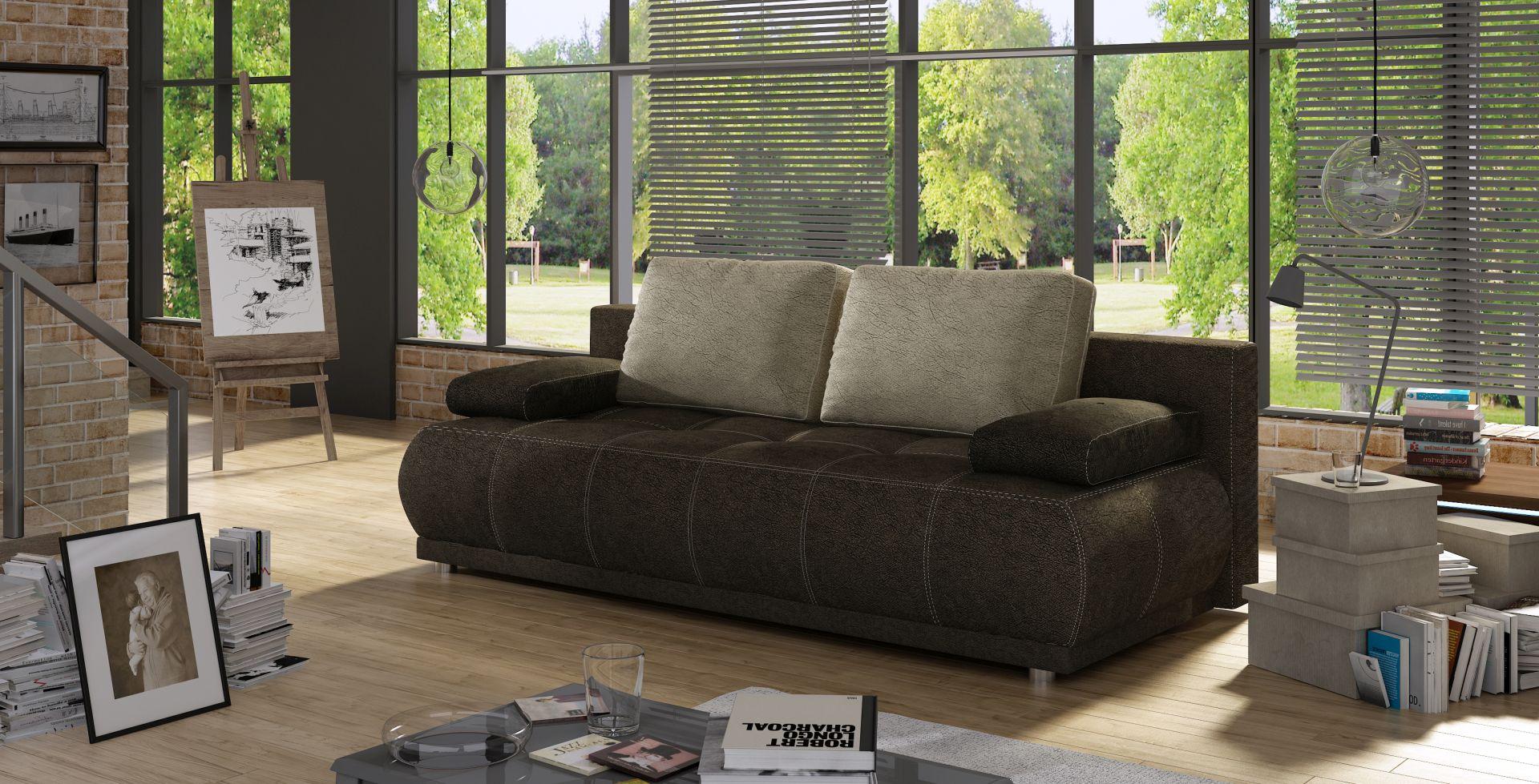 sofa schlafsofa designer 3 sitzer sofa mit bettfunktion bettkasten couch neu sonic www. Black Bedroom Furniture Sets. Home Design Ideas