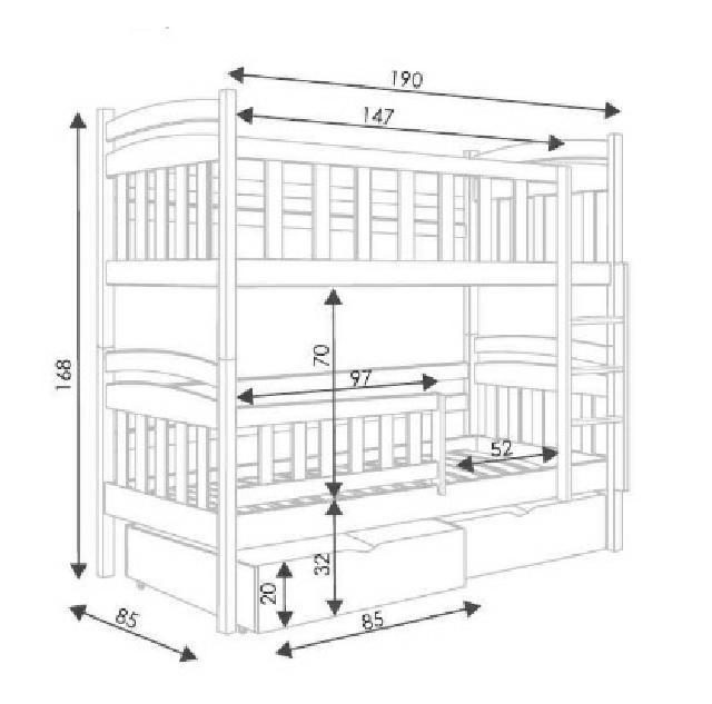doppelstockbett stockbett bett doppelbett etagenbett betten 3x kinder betten sofort lieferbar. Black Bedroom Furniture Sets. Home Design Ideas