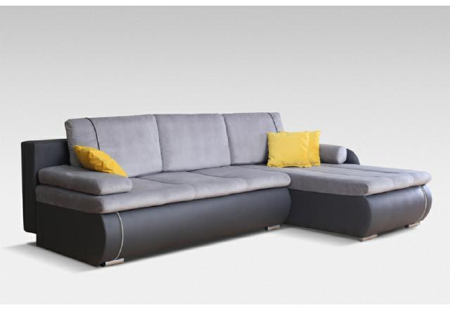 Sofas und ledersofas broadway bettfunktion designersofa for Ecksofa textil