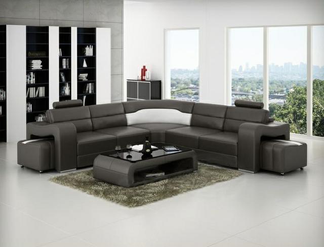 Ledersofa ecksofa couch designer sofa for Ecksofa 499 euro