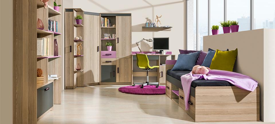 wohnwand schrankwand eck schrank kinderzimmer schreibtisch. Black Bedroom Furniture Sets. Home Design Ideas
