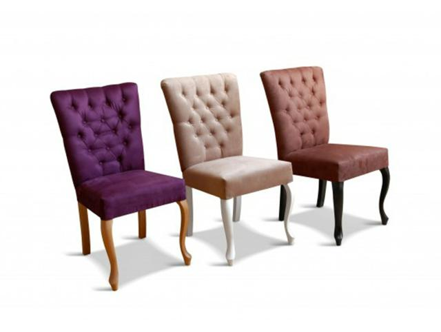 chesterfield stuhl sessel leder textil stoff st hle echtes holz neu valentine 98 www jvmoebel. Black Bedroom Furniture Sets. Home Design Ideas