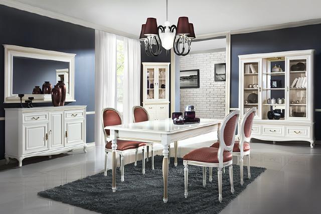 esszimmer komplett essgruppe kommode vitrine stühle 9-teiliges set, Esstisch ideennn