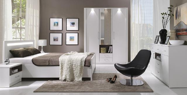 komplettes schlafzimmer jugendzimmer zimmereinrichtung new york jvmoebel. Black Bedroom Furniture Sets. Home Design Ideas