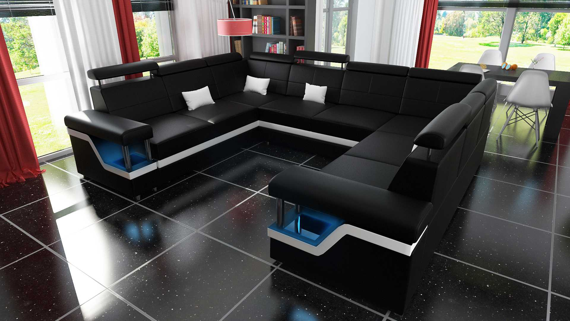 sofas und ledersofas hamburg 4 bettfunktion designersofa. Black Bedroom Furniture Sets. Home Design Ideas