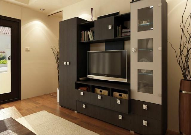 Beleuchtung Wohnzimmer Lux : ... Beleuchtet Schrank Vitrite ...