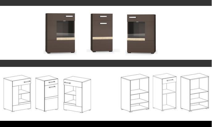zebra wohnzimmer:Details zu Wohnzimmer Set Komplett inkls. Kommode Wohnwand Anbauwand