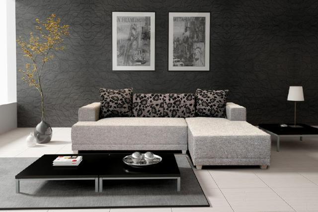 Ecksofa eck textil stoff polster sofa couch mit for Polster ecksofa