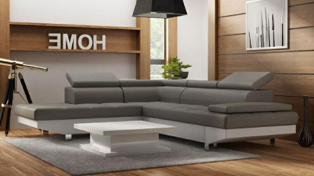Ledersofa wohnlandschaft ecksofa couch schlafsofa sofa mit for Wohnlandschaft 100 euro