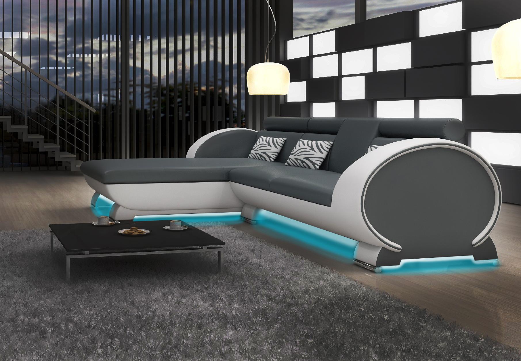 ecksofa sofa couch polster wohnlandschaft leder eck sofas. Black Bedroom Furniture Sets. Home Design Ideas