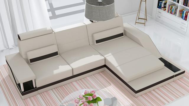 ecksofa garnitur leder textil stoff hamburg vi. Black Bedroom Furniture Sets. Home Design Ideas