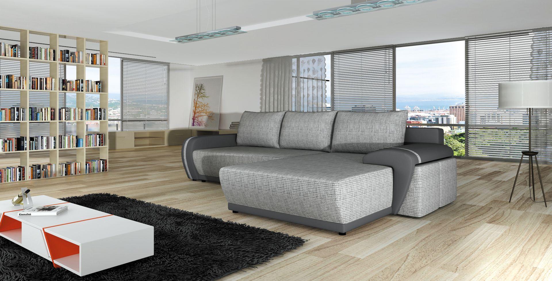 sofa schlafsofa designer sofa mit bettfunktion bettkasten ecksofa couch neu 4 you www. Black Bedroom Furniture Sets. Home Design Ideas
