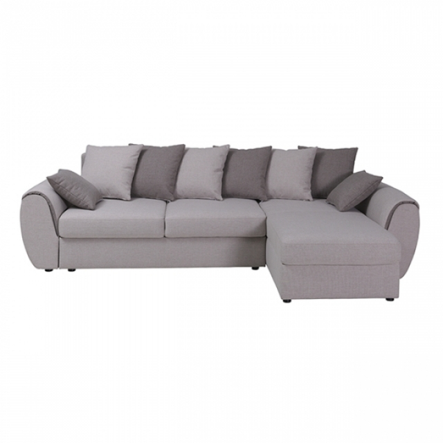 Ecksofa wohnlandschaft schlafsofa sofa bett textil stoff for Ecksofa textil