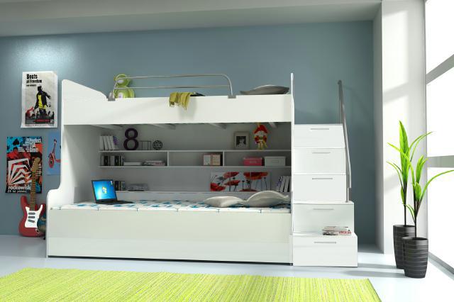 Etagenbett Für 3 Kinder : Dreier betten online kaufen billi bolli kindermöbel