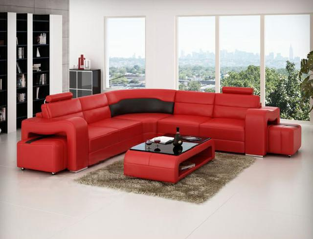 ledersofa ecksofa eckcouch designer wohnlandschaft l form couch sitz sofa pisa ebay. Black Bedroom Furniture Sets. Home Design Ideas