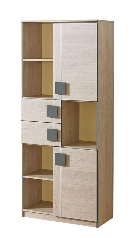 schrank b roschrank aktenschrank sonoma eiche schrank holzschrank kleiderschrank g2 www. Black Bedroom Furniture Sets. Home Design Ideas