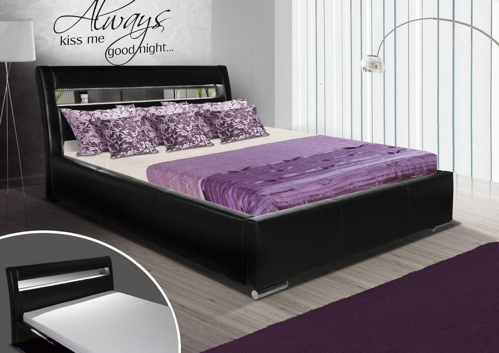 design betten in hochwertiger qualit t oder rundbett max 1 bei jv m bel. Black Bedroom Furniture Sets. Home Design Ideas
