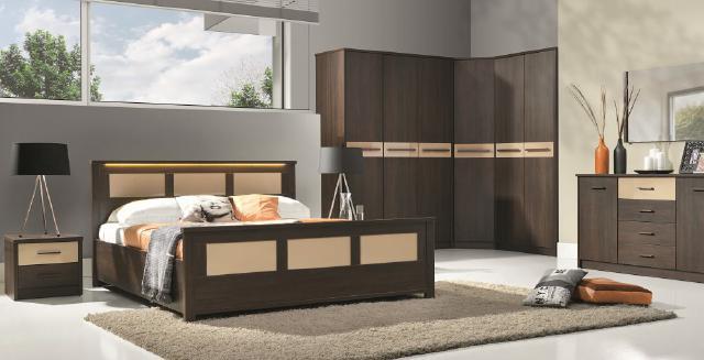 Komplettes Schlafzimmer Jugendzimmer Zimmereinrichtung Cremona 4