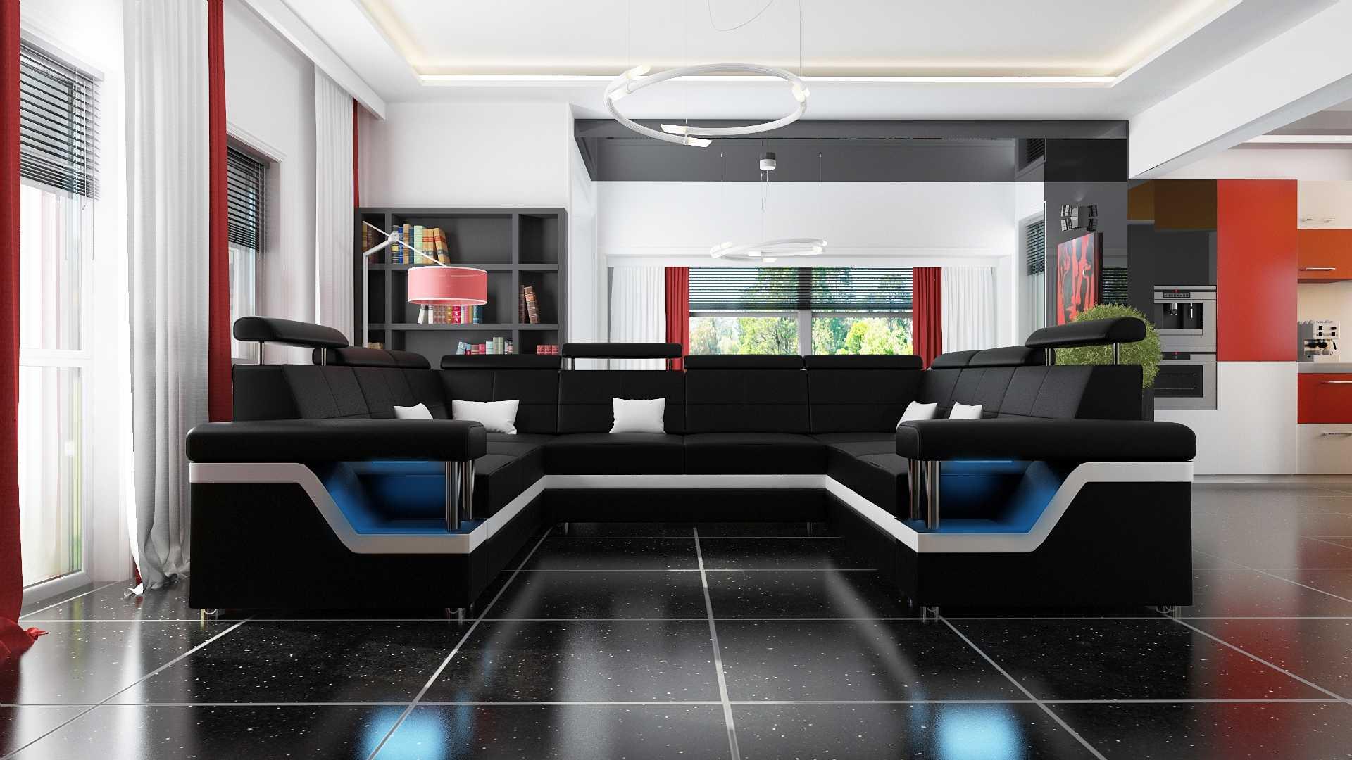 sofas und ledersofas hamburg 4 bettfunktion designersofa ecksofa jv m bel. Black Bedroom Furniture Sets. Home Design Ideas