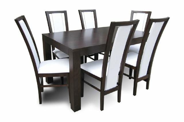 essgruppe mit tisch und st hlen wie esszimmerset z35 von jv m bel. Black Bedroom Furniture Sets. Home Design Ideas