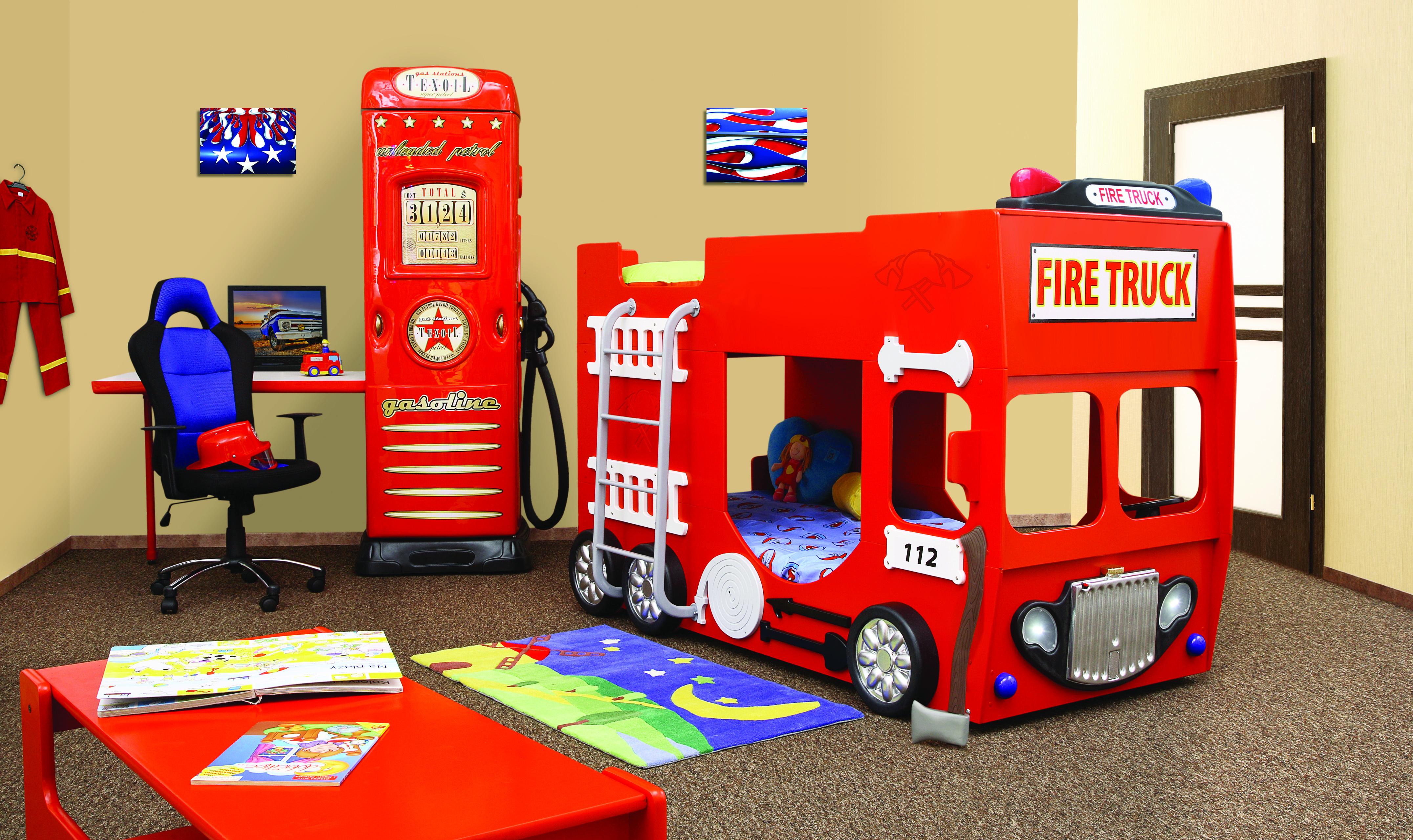 Etagenbett Feuerwehr : Doppelstockbett mit matratze stockbett bett doppelbett etagenbett