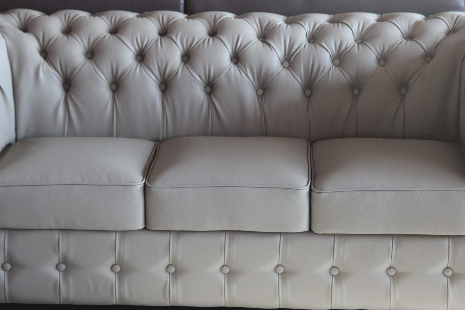 ledersofa sofa couch polster 3 sitzer chesterfield. Black Bedroom Furniture Sets. Home Design Ideas
