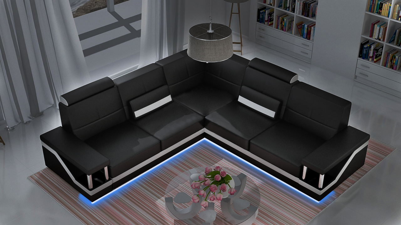 sofas und ledersofas hamburg ii bettfunktion designersofa ecksofa jv m bel sofort lieferbare. Black Bedroom Furniture Sets. Home Design Ideas